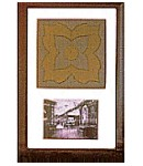 Titanic Framed Original Smoking Room Floor Tile